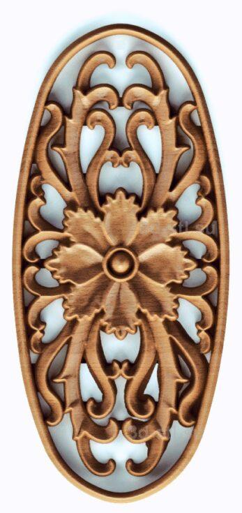 stl модель- Розетка №381