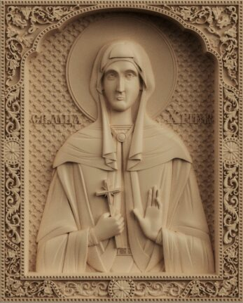 stl модель-икона  Св. Христина