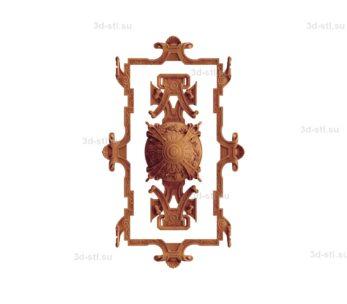 Декор центральный №007