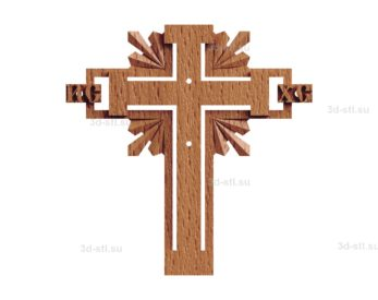 Крест №017
