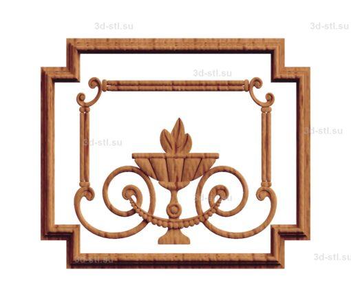 Панель декоративная №003