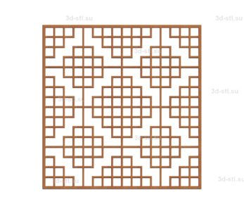 Решетка декоративная №012