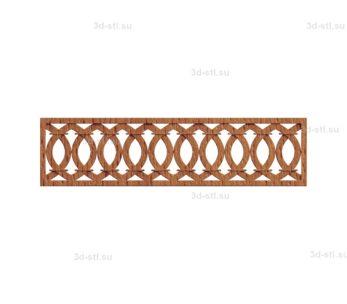 Решетка декоративная №015