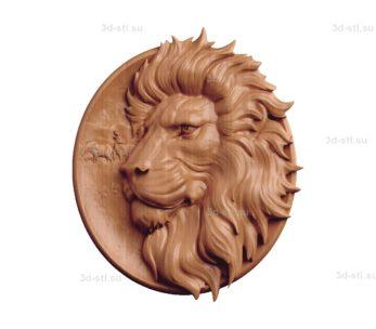 Тарелка лев