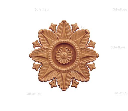 Тарелка декоративная №018