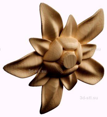stl модель- Розетка №14