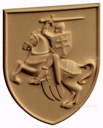 stl модель-Герб Польско-Литовского Княжества