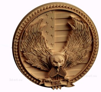 stl модель-Символика США