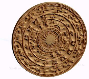 stl модель-Знак Донгшонская цивилизация