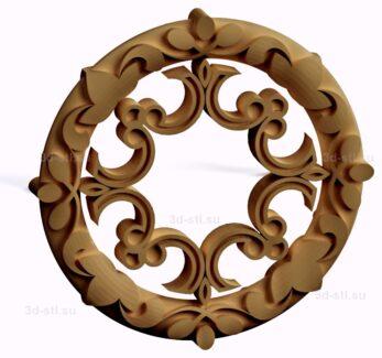 stl модель-Славянский символ Криновый круг