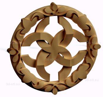 stl модель-Славянский символ Свадебник