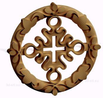 stl модель-Славянский символ Ярило