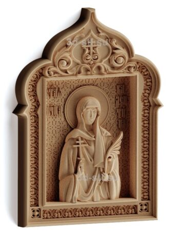 stl модель-Икона Св. Валентина