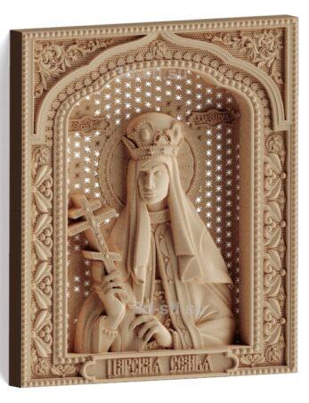 stl модель-Икона Царская семья- Св. Александра