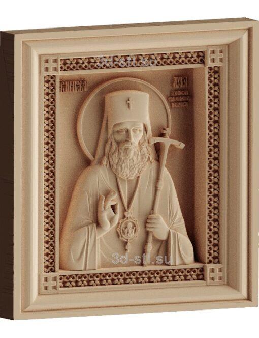 stl модель-Икона Св. Лука