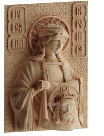 stl модель-Икона Св Вероника