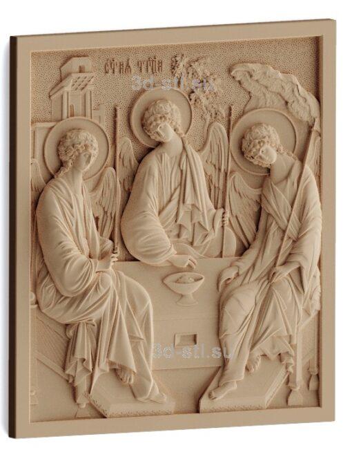 stl модель-Икона Св. Троица