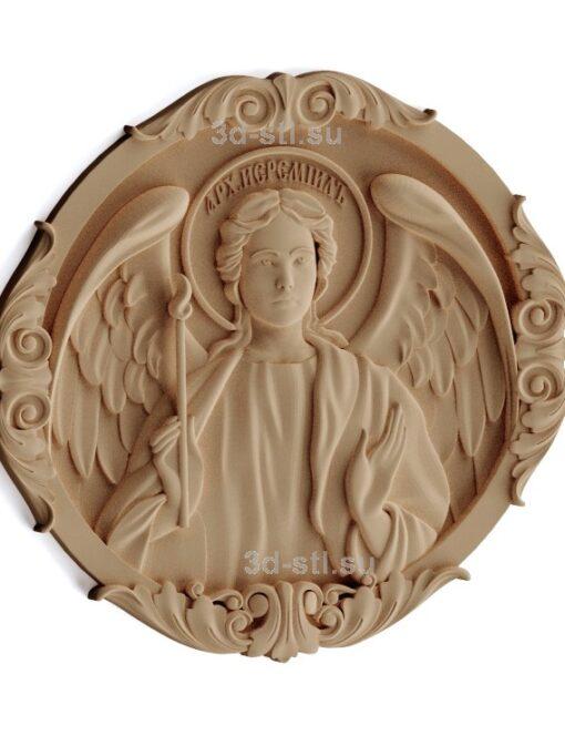 stl модель-Икона Архангел Иеремиил