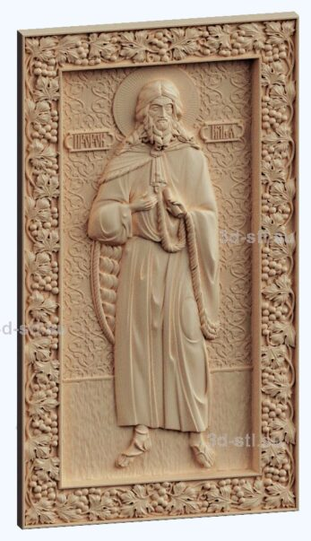 3d stl модель-икона Св. Пророк Илия