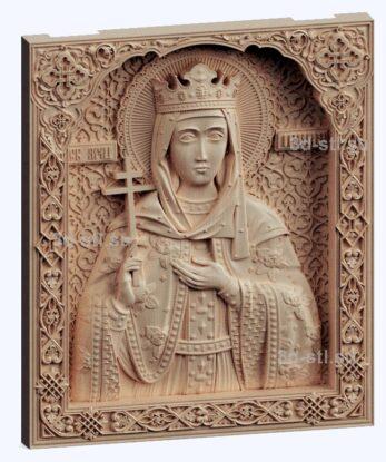 3d stl модель-Св. Ирина  икона № 535