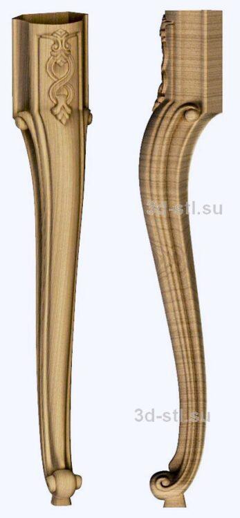 3d stl модель-ножка № 121
