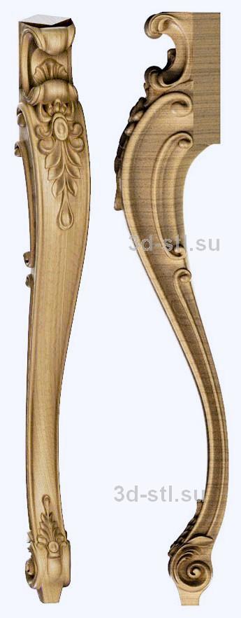 3d stl модель-ножка № 132