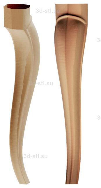 3d stl модель-ножка № 173