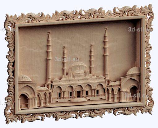 3d stl модель-Мечеть Сердце Чечни(330мб)