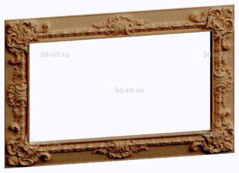 3d stl модель-Рамка № 539