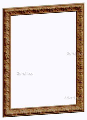 3d stl модель-Рамка № 544