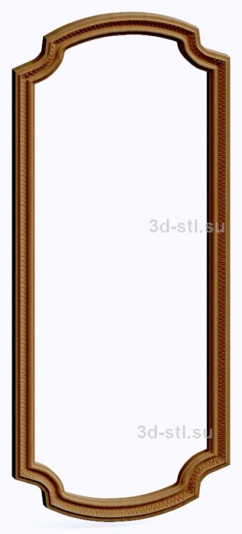 3d stl модель-Рамка № 545