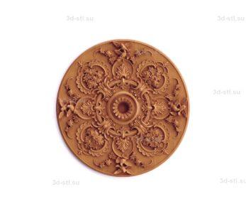 Тарелка декоративная №027