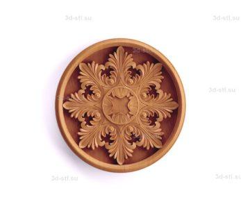 Тарелка декоративная №042