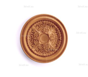 Тарелка декоративная №049