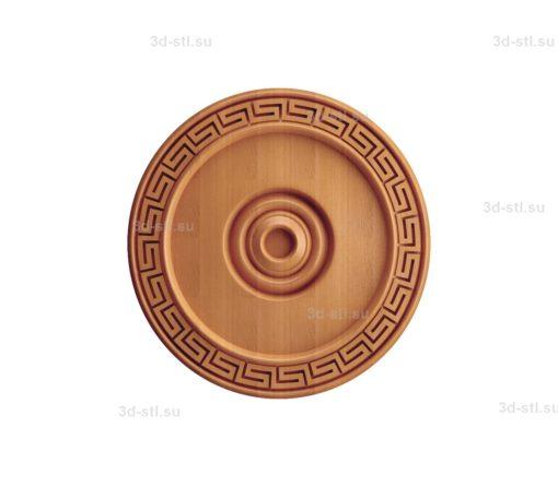 Тарелка декоративная №242