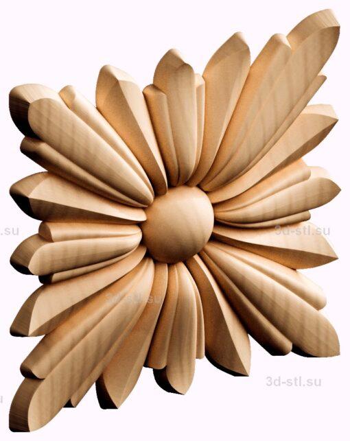 stl модель- Розетка №260