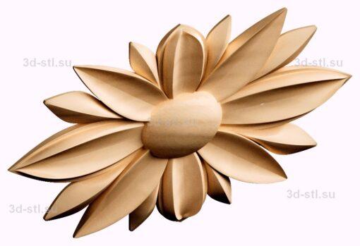 stl модель- Розетка №391
