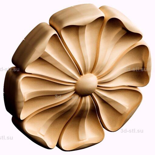 stl модель- Розетка №401
