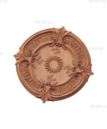 Тарелка декоративная №007