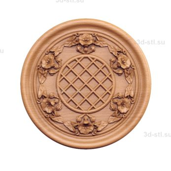 Тарелка декоративная №019