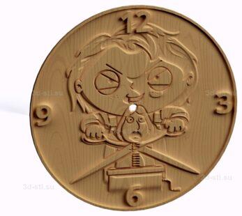 Часы №021