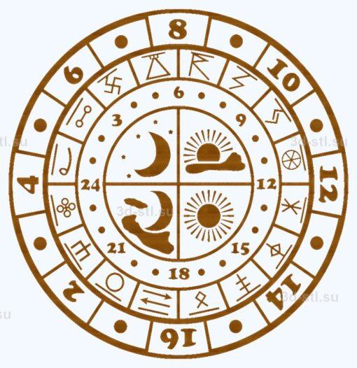 Часы №096