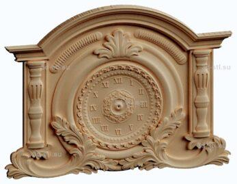 3d stl модель-Часы  № 185
