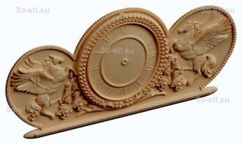 3d stl модель-Часы  № 186