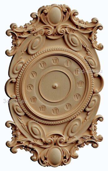 3d stl модель-Часы  № 187