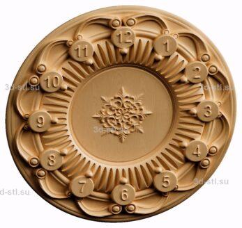 3d stl модель-Часы  № 190