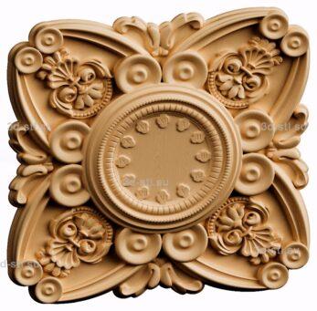 3d stl модель-Часы  № 191