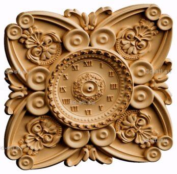 3d stl модель-Часы  № 192